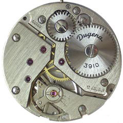 Dugena watch mechanism