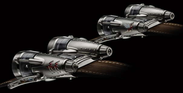 limited noveleties Double Trouble & Razzle Dazzle by MB&F