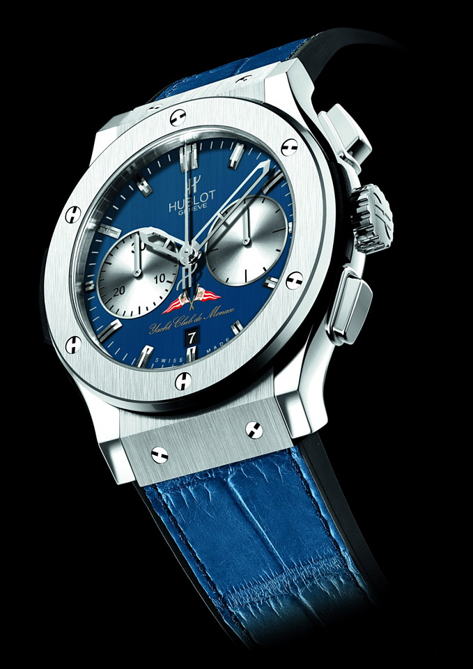 A wristwatch Hublot in honor of the yacht club of Monaco