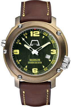 bronze watch Anonimo Marlin Bronze mod. 7001