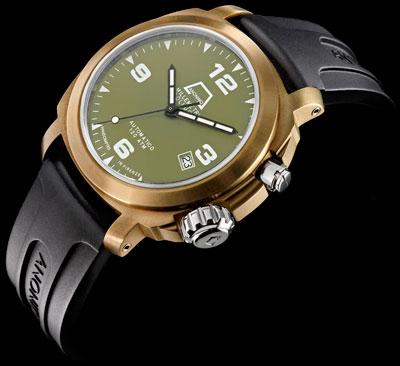 Introducing olivier watches the olivier bronze diver - Bronze dive watch ...