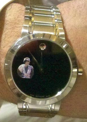 Wrist watches of famous Muammar Gaddafi