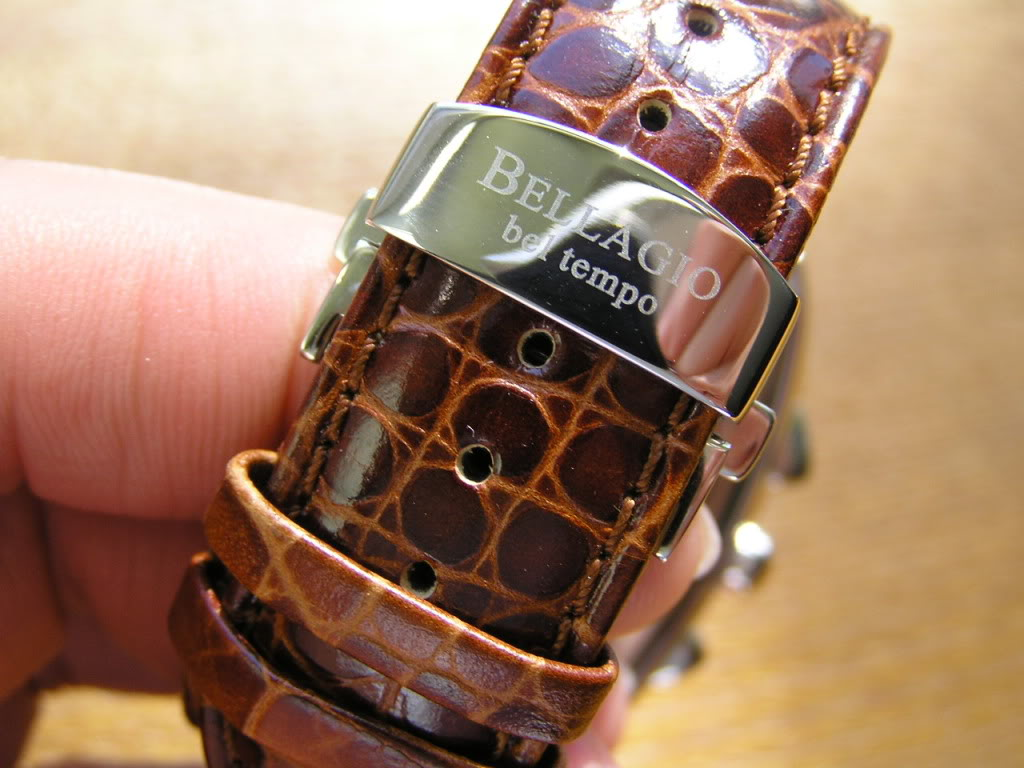 Bellagio bel Tempo watch strap