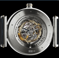 Vianney Halter watch backside