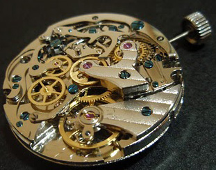 Praesto watch mechanism - Seagull ST 1901 chronograph
