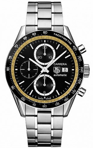 Carrera Ring-Master watch by Tag Heuer