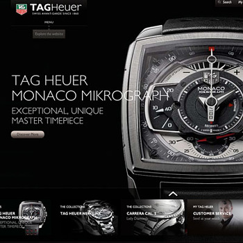 Watch Brand TAG Heuer will open an online store in the U.S
