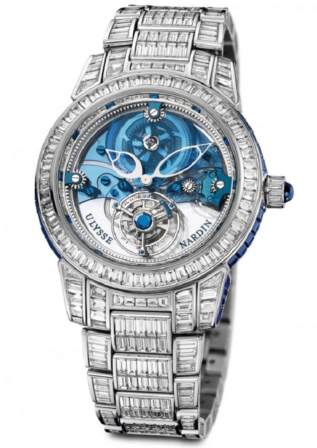 Royal Blue Tourbillion Haute Joaillerie