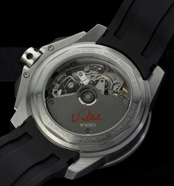 Hacher watch backside