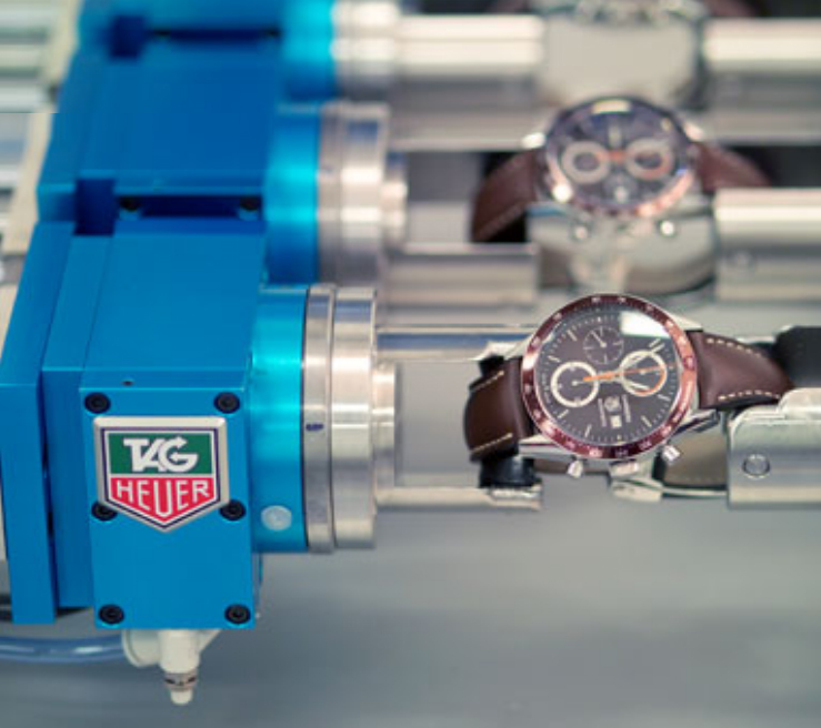 control of TAG Heuer watch quality