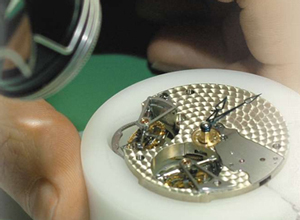 Greubel Forsey watch assembly
