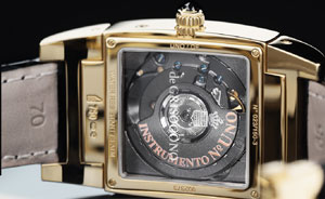 De Grisogono watch backside