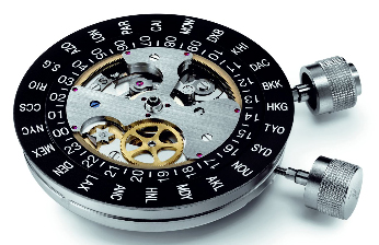 Eterna watch mechanism