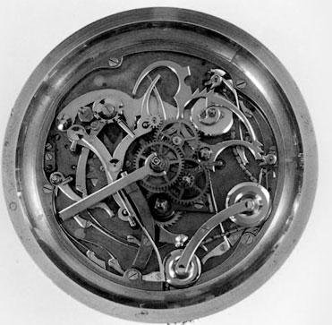 Jean-Mairet Gillman watch mechanism
