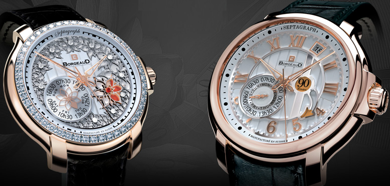 women's and men's watches BorgeauD Septagraph ��