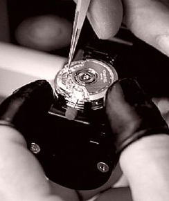 Chanel watch assembly