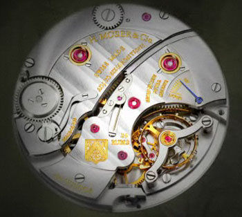 H.Moser & Cie mechanism