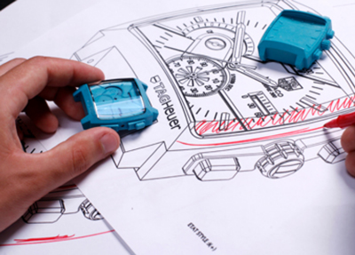TAG Heuer watch designing