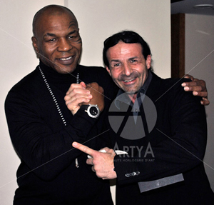 Mike Tyson with Artya