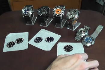 Benarus watches and their dials