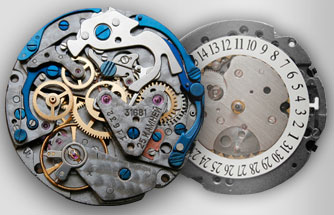 Dennisov Watch Company watch mechanism