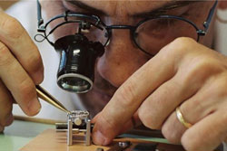 Jaeger-LeCoultre watch assembly