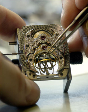 Franck Muller watch assembly