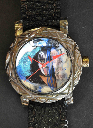 ArtyA watch dedicated to the legendary band Kiss
