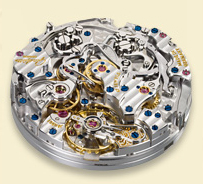 Glashutte Original hand-wound mechanism