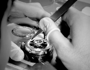Van Cleef & Arpels watch assembly