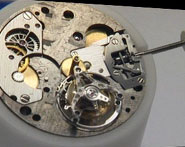 Badollet watch mechanism