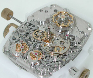 Franck Muller watch mechanism