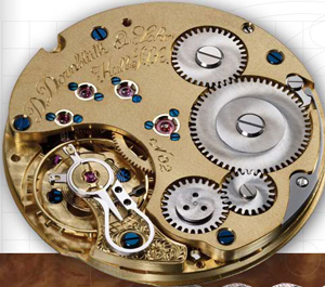 D.Dornbluth watch mechanism