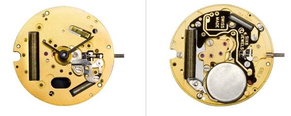 Isaswiss watch mechanism