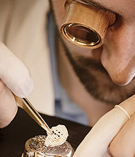 Glashutte Original watch assembly