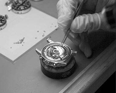 Panerai watch assembly