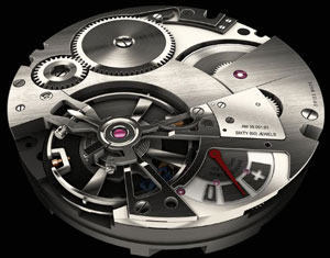 Antoine Martin watch mechanism