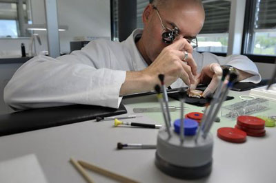 Hublot watch assembly