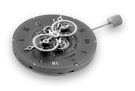 Haldimann watch mechanism