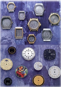 HMT watch cases and dials