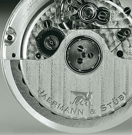 Jaermann & Stubi watch mechanism