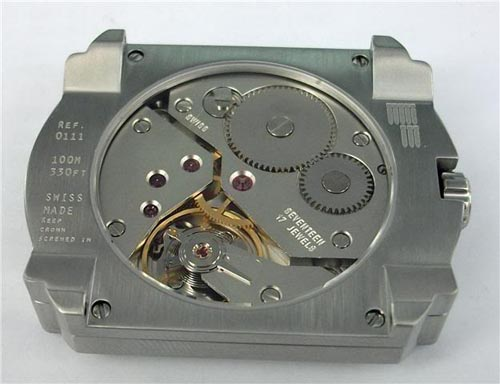 Bathys Hawaii watch mechanism
