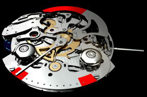 De Bethune watch mechanism