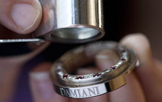 Damiani watch creating