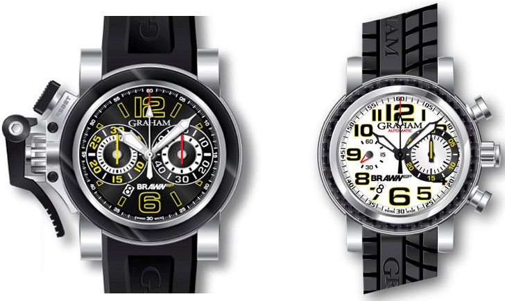 Chronograph Silverstone G-BGP-001 and Chronofighter G-BGP-001