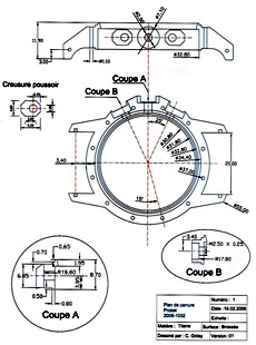 Golay Spierer watch schematic image