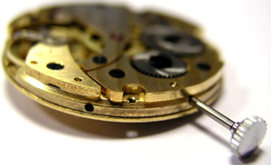 Blancier watch mechanism