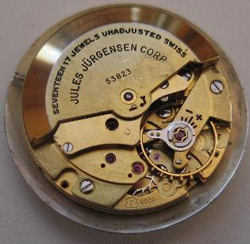 Jules Jürgensen watch mechanism