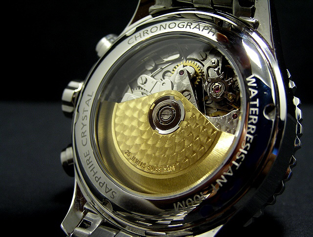 Marc & Sons watch backside