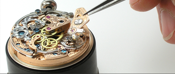 Alexander Shorokhoff watch setting-up process
